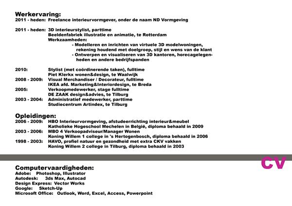 Noortje Dingemans   CV